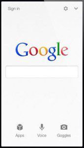 mobile search, mobile website