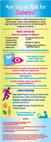 FDOH March At Risk for Diabetes 01