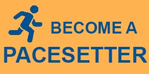 Become a pacesetter button